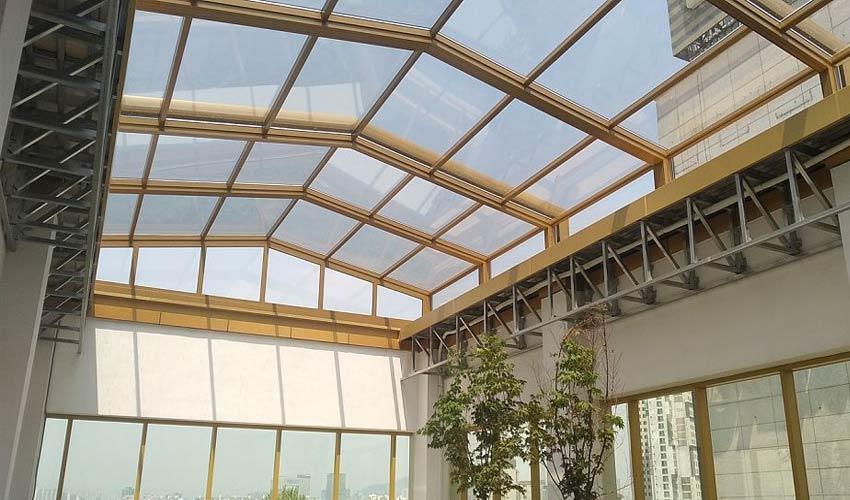 Cam Skylight Çatı