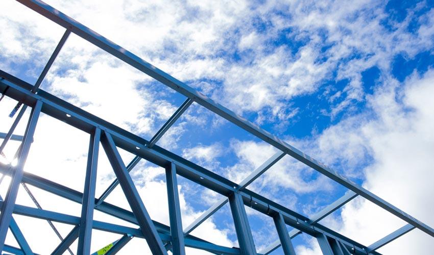 Çelik Çatı Konstrüksiyonu