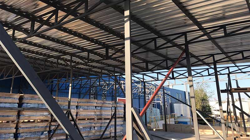 Çelik Konstrüksiyon Fabrika Çatı Sistemleri